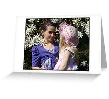 Easter girls Greeting Card