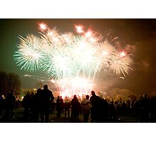 Firework Display Photographic Print