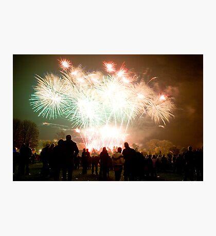 Firework Display Photographic Print