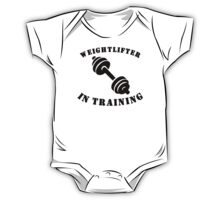 Weightlifter In Training One Piece - Short Sleeve