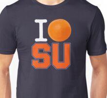 I Heart ( LOVE ) SU - Orangemen - Blue Unisex T-Shirt