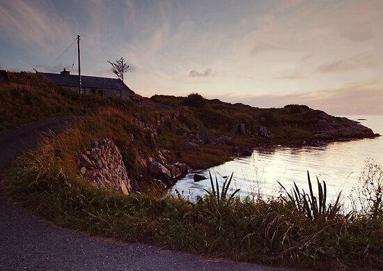 Evening at Trawenagh Bay by WatscapePhoto