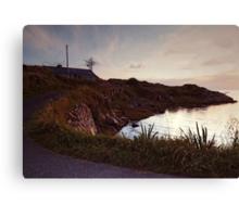 Evening at Trawenagh Bay Canvas Print