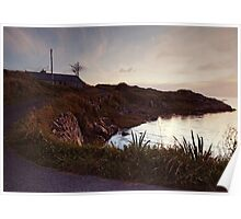 Evening at Trawenagh Bay Poster