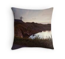 Evening at Trawenagh Bay Throw Pillow