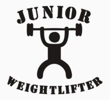 Junior Weightlifter One Piece - Short Sleeve