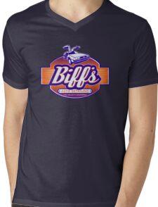 Biff's Auto Detailing Mens V-Neck T-Shirt