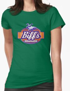 Biff's Auto Detailing Womens Fitted T-Shirt