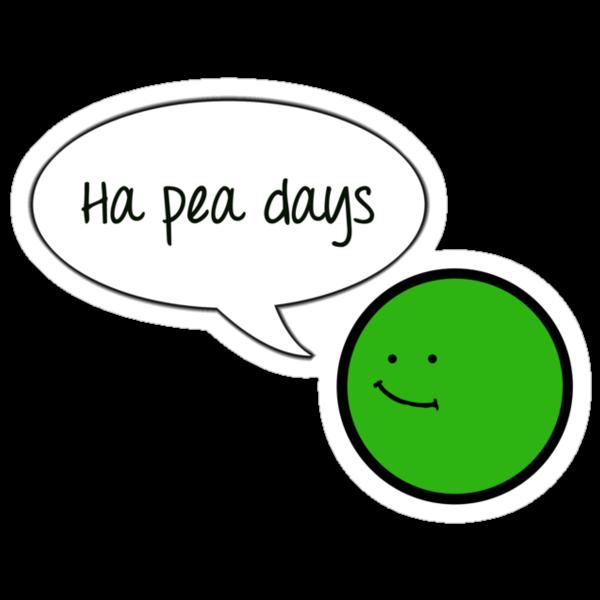 Ha Pea Days by gemzi-ox