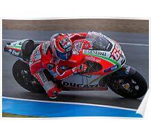 Nicky Hayden in Jerez 2012 Poster
