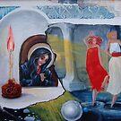 Pray for us, sinners ...! by kseniako