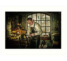 The Leatherworker Art Print