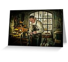 The Leatherworker Greeting Card