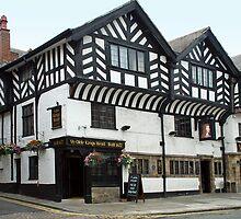Ye Olde Kings Head - Chester - England by Arie Koene