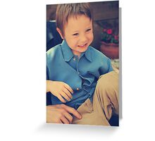 Giggles Greeting Card