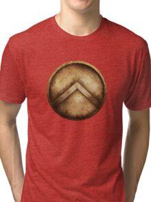 Spartan Shield Tri-blend T-Shirt