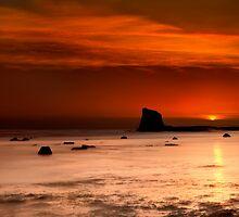 Saltwick Bay Sunrise by Svetlana Sewell