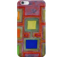 Colorful Screens on the Shelf  iPhone Case/Skin