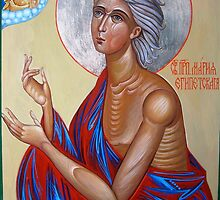 St. Mary of Egypt by Alla Melnichenko