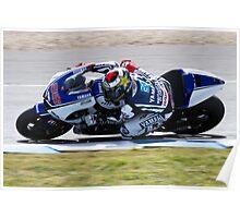 Jorge Lorenzo in Jerez 2012 Poster