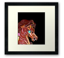 Once Upon a Magic Horse Framed Print