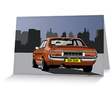Ford Consul GT Greeting Card