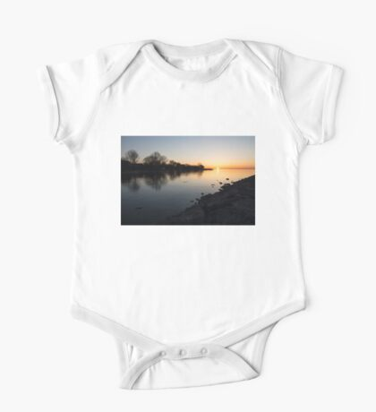 Greeting the New Day on Lake Ontario in Toronto, Canada One Piece - Short Sleeve