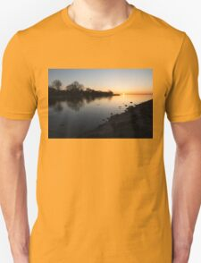 Greeting the New Day on Lake Ontario in Toronto, Canada T-Shirt