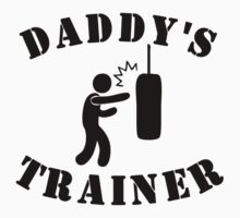 Daddy's Boxing Trainer Kids Clothes