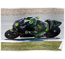 Cal Crutchlow in Jerez 2012 Poster