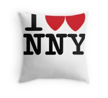 I ♥♥ New New York  Throw Pillow
