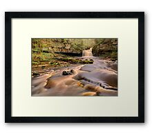 Cauldron Falls, West Burton Framed Print