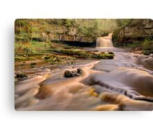 Cauldron Falls, West Burton Canvas Print