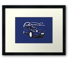 Ford Puma Framed Print