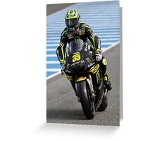 Cal Crutchlow in Jerez 2012 Greeting Card