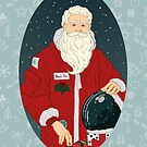 Santa Astronaut by beesants