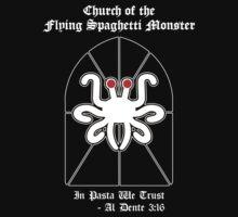 Flying Spaghetti Monster -- Al Dente 3:16 by Samuel Sheats