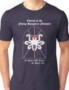 Flying Spaghetti Monster -- Al Dente 3:16 Unisex T-Shirt