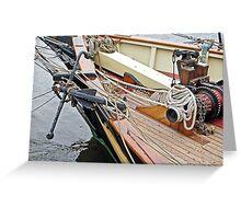 Baltimore's Anchor & Windlass Greeting Card