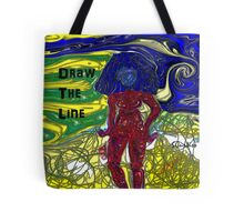 Draw The Line Tote Bag