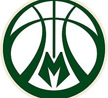 Milwaukee Bucks by ackypoo