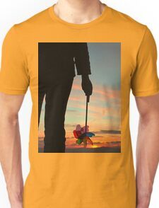 To see which way the wind blows Unisex T-Shirt