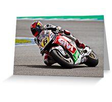 stefan bradl in Jerez 2012 Greeting Card