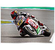 stefan bradl in Jerez 2012 Poster