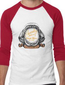 Amity Island Boat Hire Men's Baseball ¾ T-Shirt