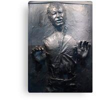 Han Solo Carbonite Canvas Print
