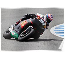 Michel Pirro in Jerez 2012 Poster