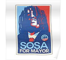 sosa for mayor  Poster
