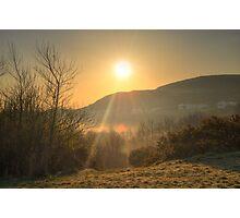 A Misty Groudle Sunrise Photographic Print