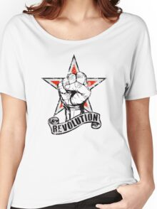 Up The Revolution! Women's Relaxed Fit T-Shirt